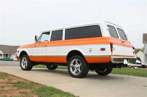 1970 Chevy 4 Door Truck by Buy Used 1970 Chevrolet Suburban C20 Quot 3 Door Quot 3 4 Ton