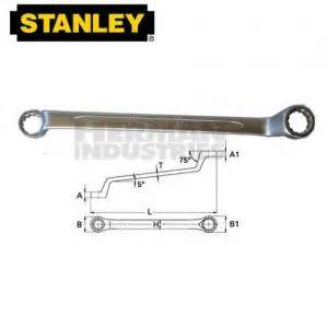 Stanley Combinatiin Wrench 21 Mm Part Number 87 081 stanley wrench combination slimline 32 mm herman industries