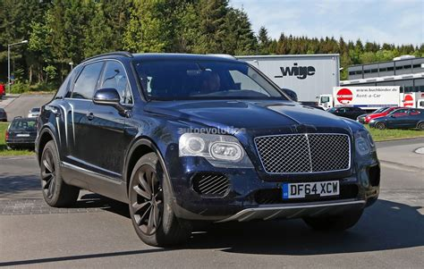 bentley motorcycle 2016 2016 bentley bentayga suv spotted nearly camo free