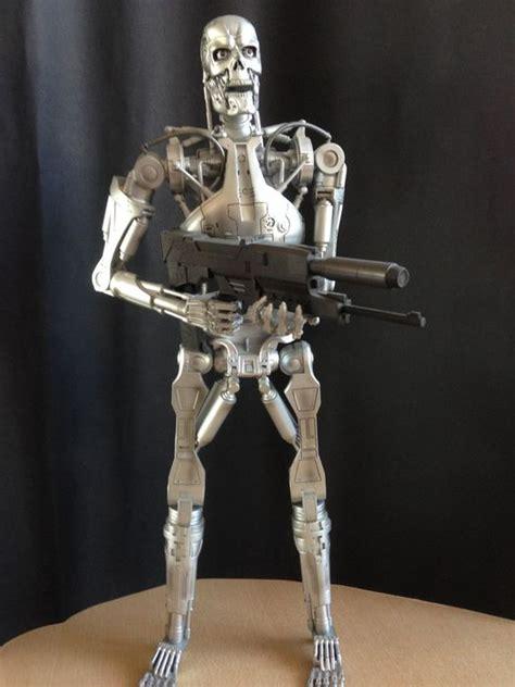 Terminator 2 - T-800 statuetta endoscheletro NECA + Endo ... Lotto Endo