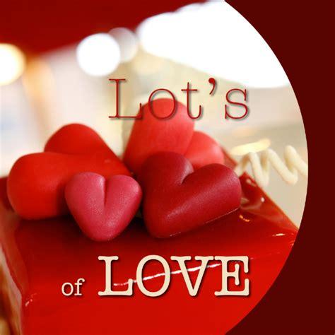 4 the love of go l d valentijnskaart lots of love hartjes valentijnskaarten