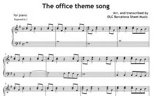 the office theme song piano sheet