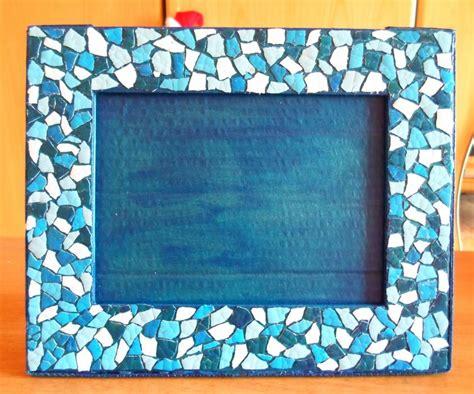 cornici foto bimbi lavoretti per bambini con il mosaico tante idee fai da te