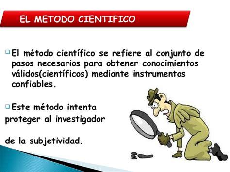 el mtodo monchi las 8417103023 el metodo cientifico