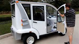 Low Speed Electric Vehicles Canada Citecar Electric Vehicles 4 Passenger Enclosed Low Speed