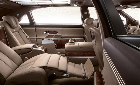maybach 6 interior maybach interior car models