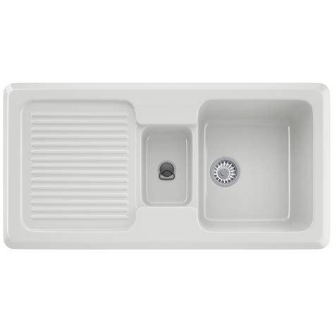 franke ceramic kitchen sinks franke v and b vbk 651 ceramic white 1 5 bowl inset sink