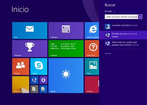 escritorio remoto en windows 8 c 243 mo configurar escritorio remoto en windows 8 de