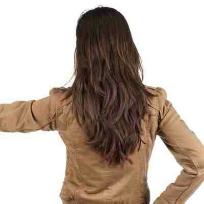cute maybe not quite so long in the back hairstyles long layered v cut hair hair pinterest long layered