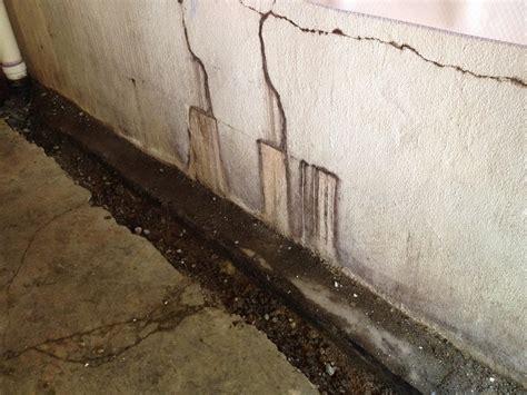 water leak in basement wall woods basement systems inc basement waterproofing