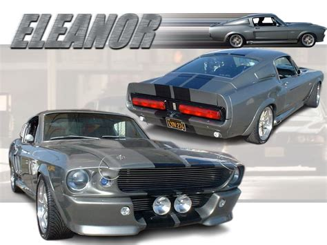 1967 shelby gt 500 eleanor ford mustang shelby gt500