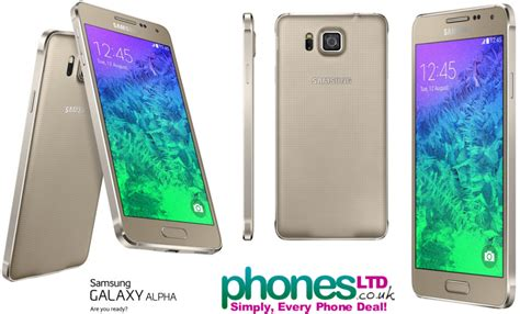samsung galaxy alpha deals contract offers the frosted gold samsung galaxy alpha phone images