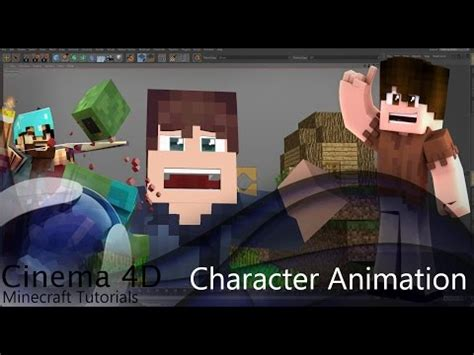 cinema 4d character template cinema 4d minecraft rig template version 9 presentat