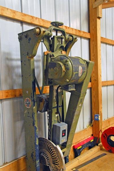 swing saw photo index heston anderson model 55 swing saw