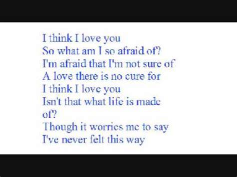 i you lyrics i think i you with lyrics by kaci brown