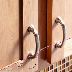 Best Way To Paint Kitchen Cabinets how to install cabinet hardware the family handyman
