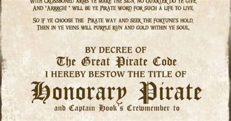 pirate certificate cpt hook 2400x3106px free birthday