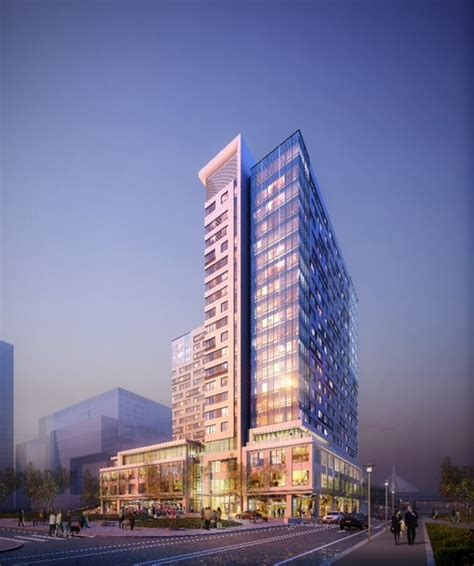 355 Square Feet by Northpoint Developers Break Ground On 20 Story Apartment