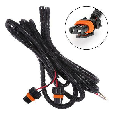 drl fog light loom wiring cable plug kit  chevy