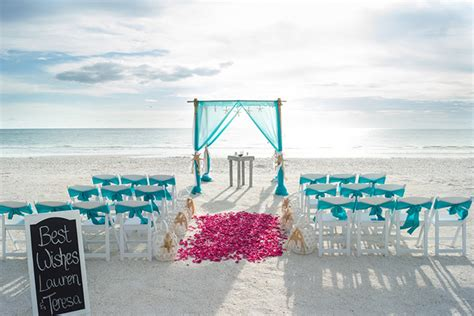 Turquoise And White Wedding Decorations St Petersburg Florida Wedding Planner Tied The Knot