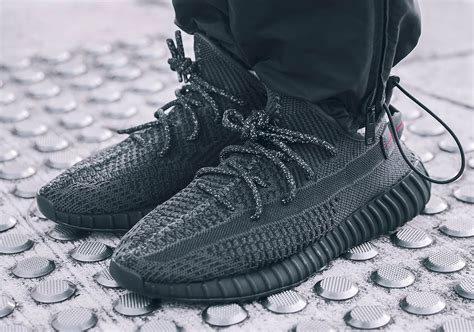 Adidas Yeezy 350 V2 Static Black by Adidas Yeezy Boost 350 V2 Black Fu9013 Release Date Sneakernews