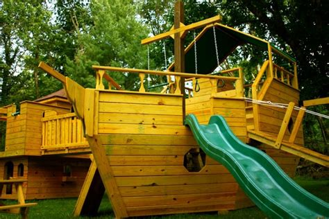 wooden boat swing set pin by lois kompass on childrens pirate ship pinterest