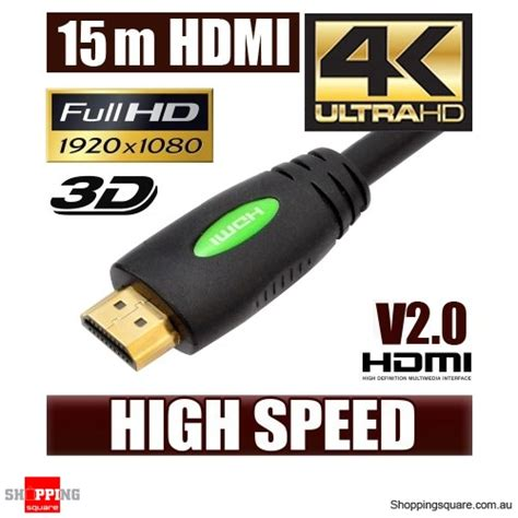 Sale Kabel Hdmi Bafo 20m High Speed 20 Meter V1 4 new 15m hdmi cable v2 0 high speed with ethernet and 4k