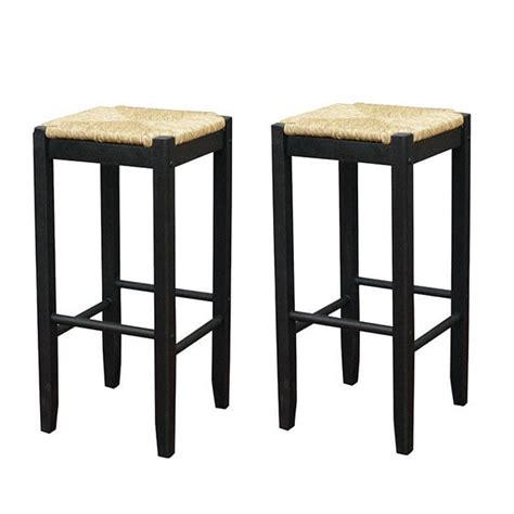 White Rattan Counter Stools by Rattan Counter Stool