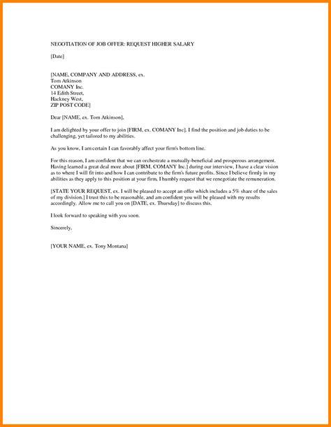 counter offer letter samples sales slip template