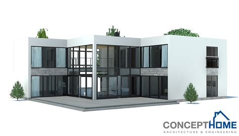 Contemporary Modern House Plans by Contemporary House Plans Contemporary Home Ch168