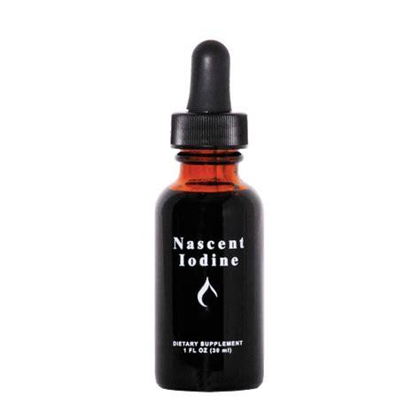 Nascent Iodine Detox Fluoride by Nascent Iodine Jod 30ml Fr 229 N Thorne Welloteket Se