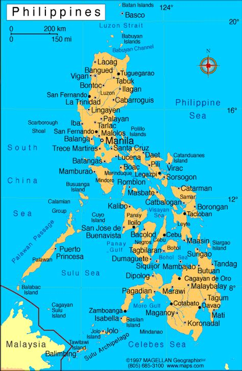 map usa to philippines philippine map rice
