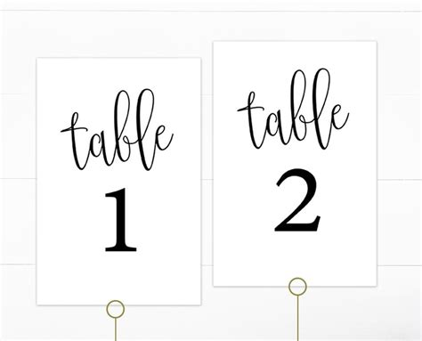 printable table number cards template wedding detail card wording wiring diagram and fuse box