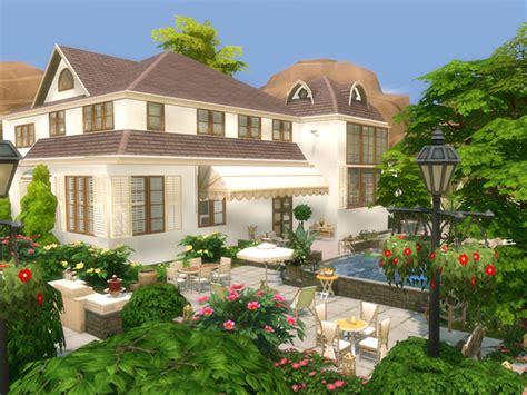 veranda house by danuta720 at tsr 187 sims 4 updates - Sims 4 Veranda