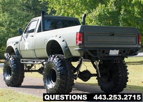 dodge mud truck for sale 1989 dodge ram 2500 mud truck truck for sale