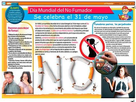 imagenes del dia del no fumador d 237 a mundial del no fumador se celebra el 31 de mayo