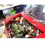 Classic Mini 1380cc Engine  Start Of Tuning Process 2013