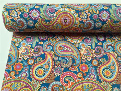 paisley fabric for curtains blue paisley designer fabric for curtain upholstery cotton