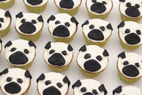 pug birthday cakes pug cupcakes for