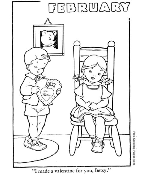 winter coloring pages february 06