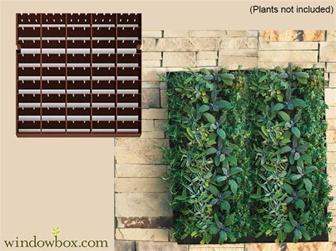 large living wall planter   wide    high