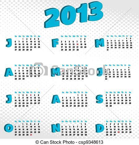 Calendrier Can 2013 Dessins De Calendrier 2013 A Calendrier Pour 2013