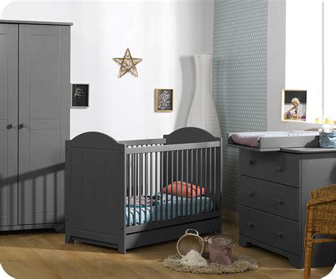 chambre enfant grise chambre b 233 b 233 nature gris anthracite achat vente
