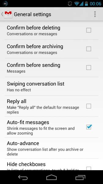 tutorial gmail android how to enable quot pinch to zoom quot in gmail android app