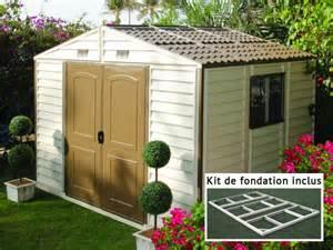 un abri de jardin sans dalle b 233 ton