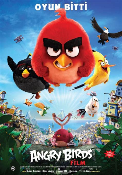 angry birds movie poster 18 of 27 imp awards angry birds movie poster 13 of 27 imp awards