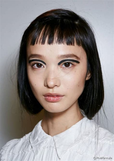 cutting short fringe on ultra short hair baby bangs the ultra short trend