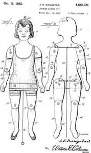 Jointed Paper Doll Template by Meggiecat Articulated Paper Doll Templates Paper
