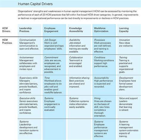 human capital plan template talent planning models