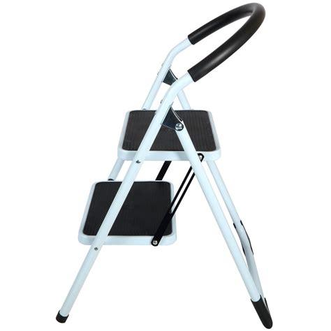 2 Step Stool Ladder by 2 Step Non Slip Tread Folding Step Ladder Kitchen Stool
